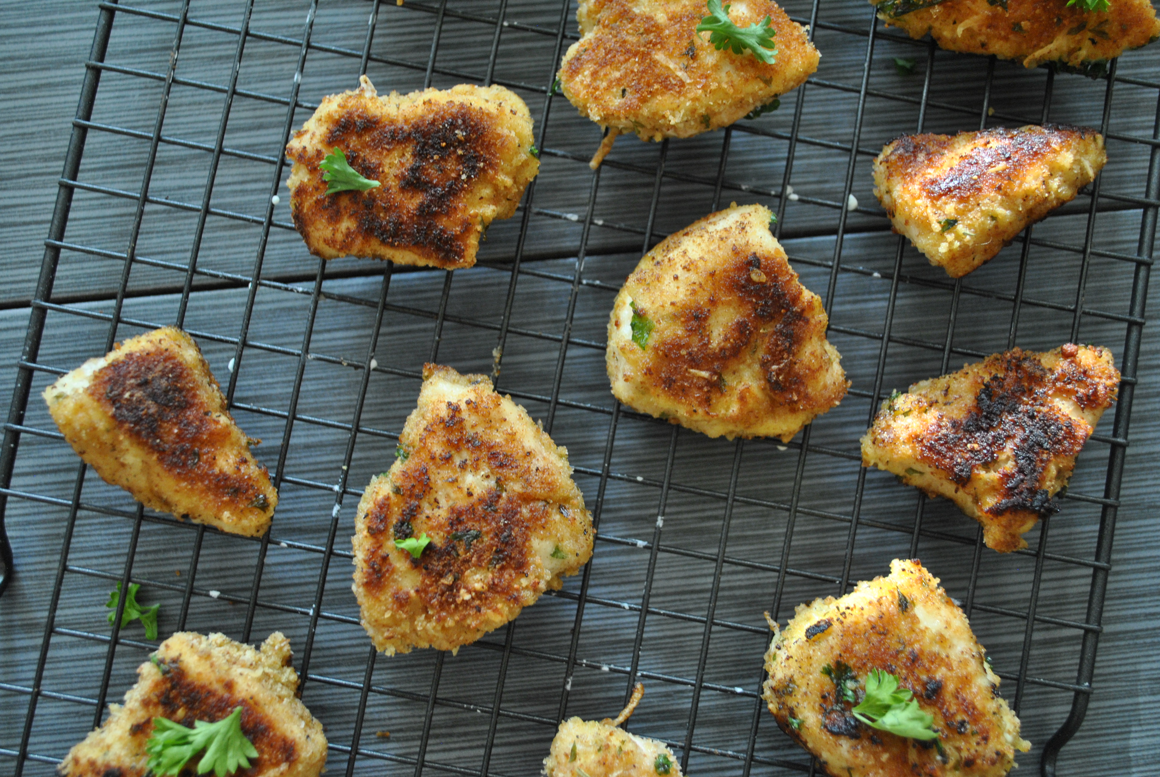 Lifestyle Blogger Chocolate and Lace shares her recipe for delicious and healthy chicken nuggets your kids will love.
