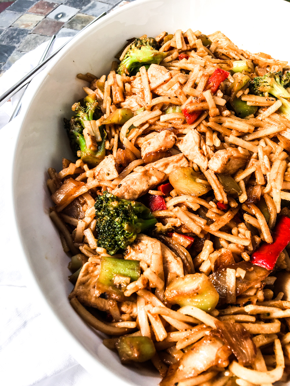 Lifestyle Blogger Chocolate and Lace shares her recipe for Chinese take out at home.