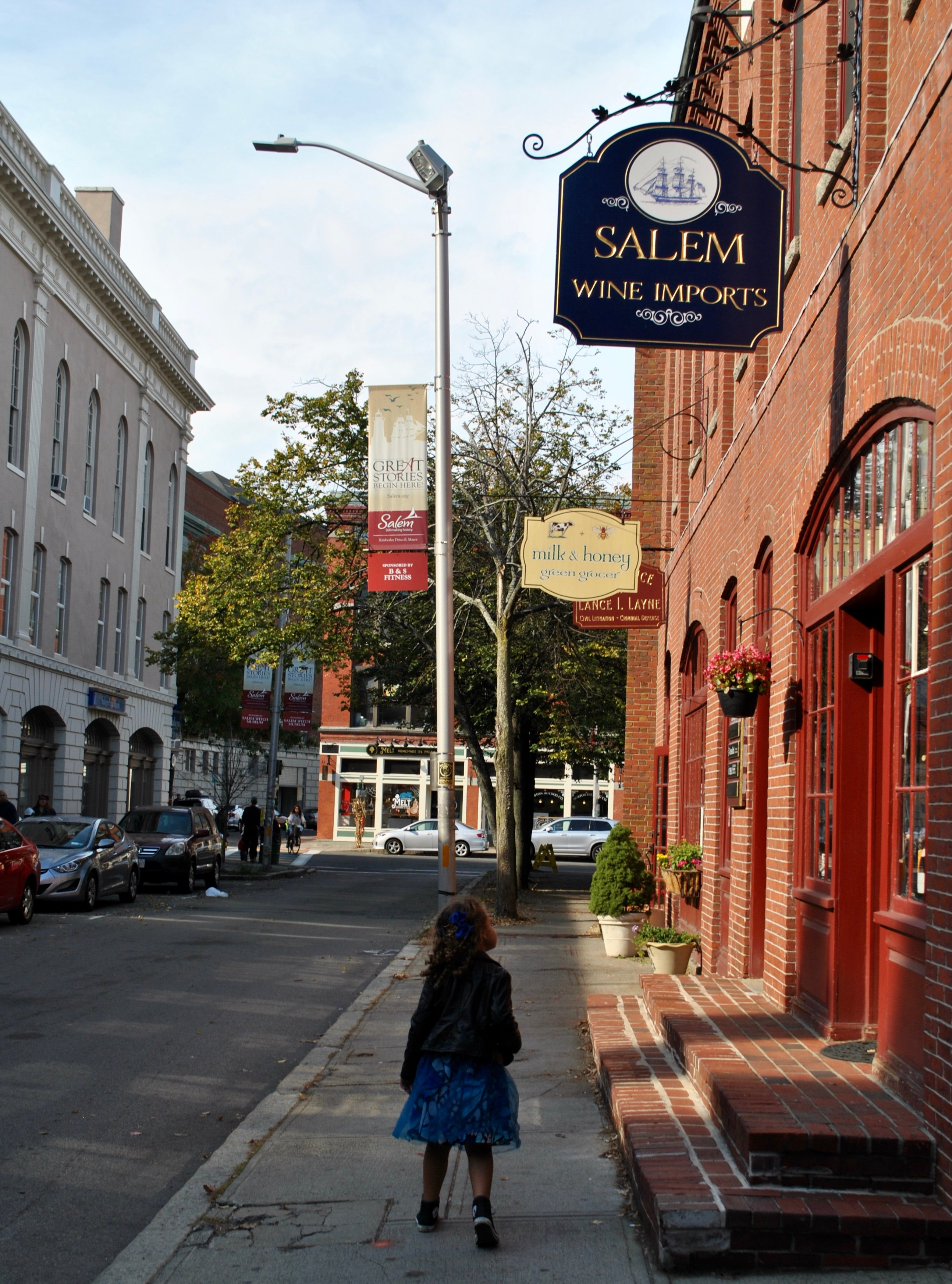 Lifestyle Blogger Chocolate and Lace shares her visit to Salem Massachusetts.