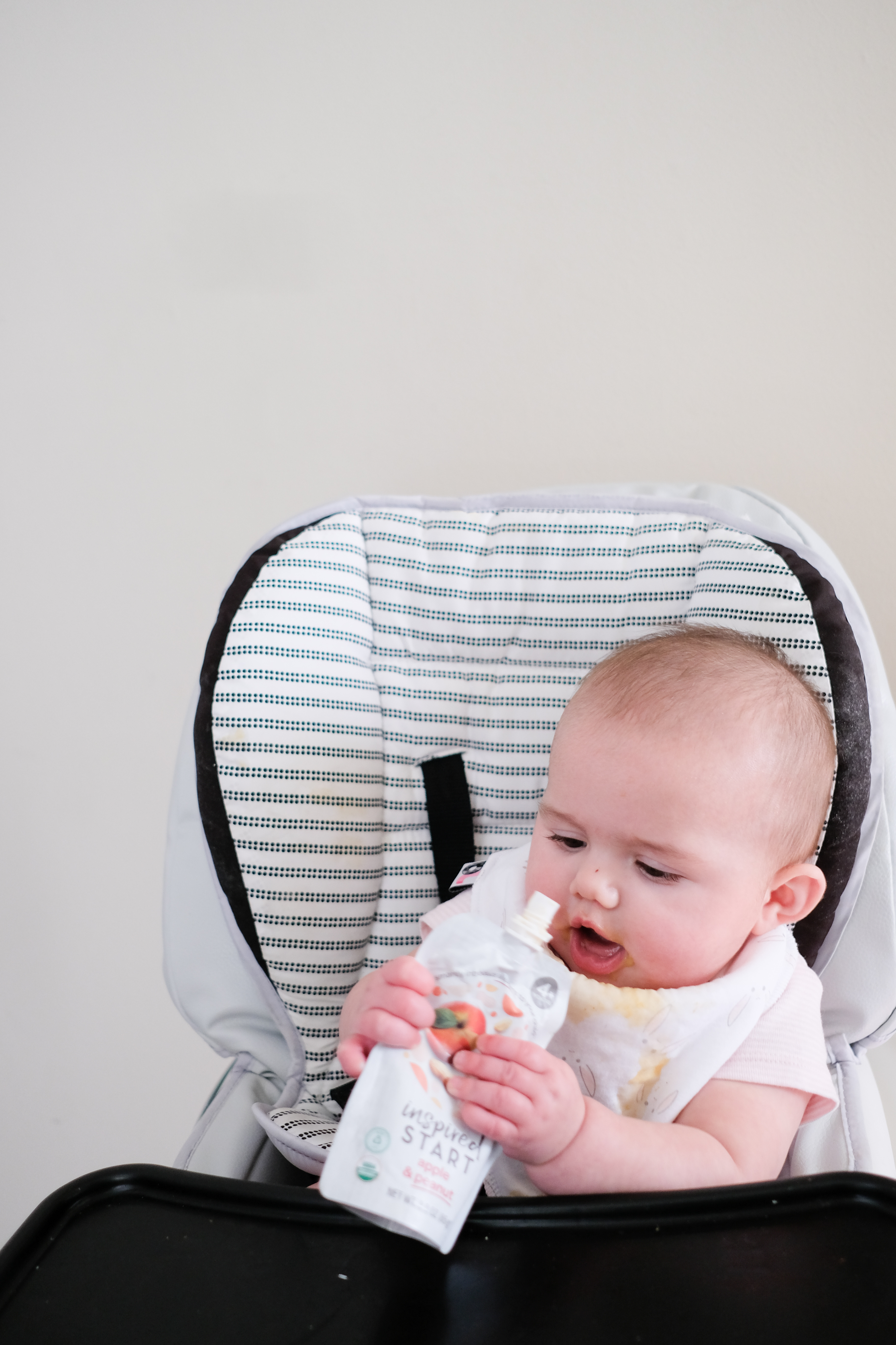 Lifestyle Blogger Chocolate & Lace shares how she is introducing early allergens to her baby with Inspired Start.