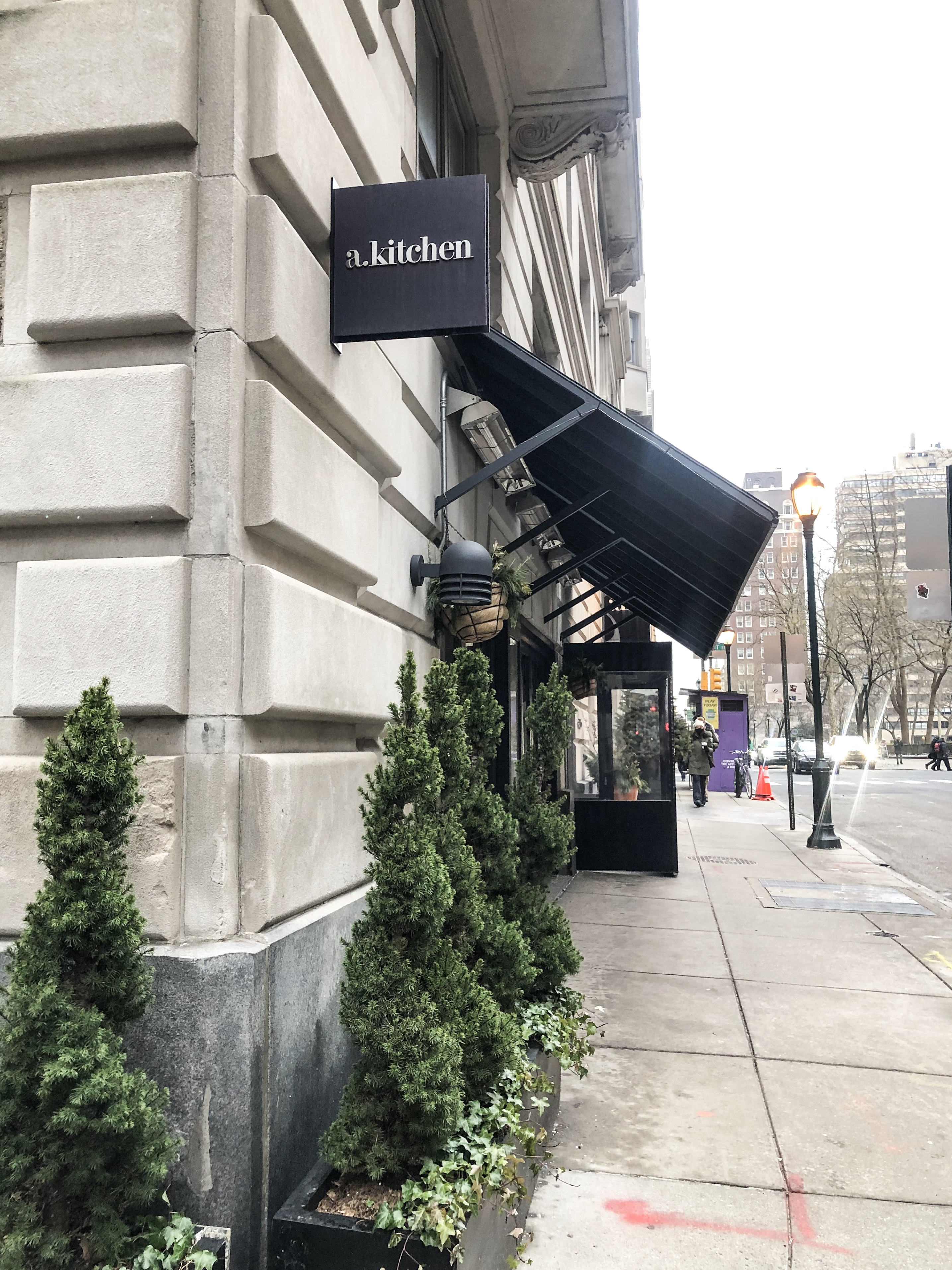 Lifestyle Blogger Chocolate & Lace shares her visit to Philly's a. kitchen restaurant