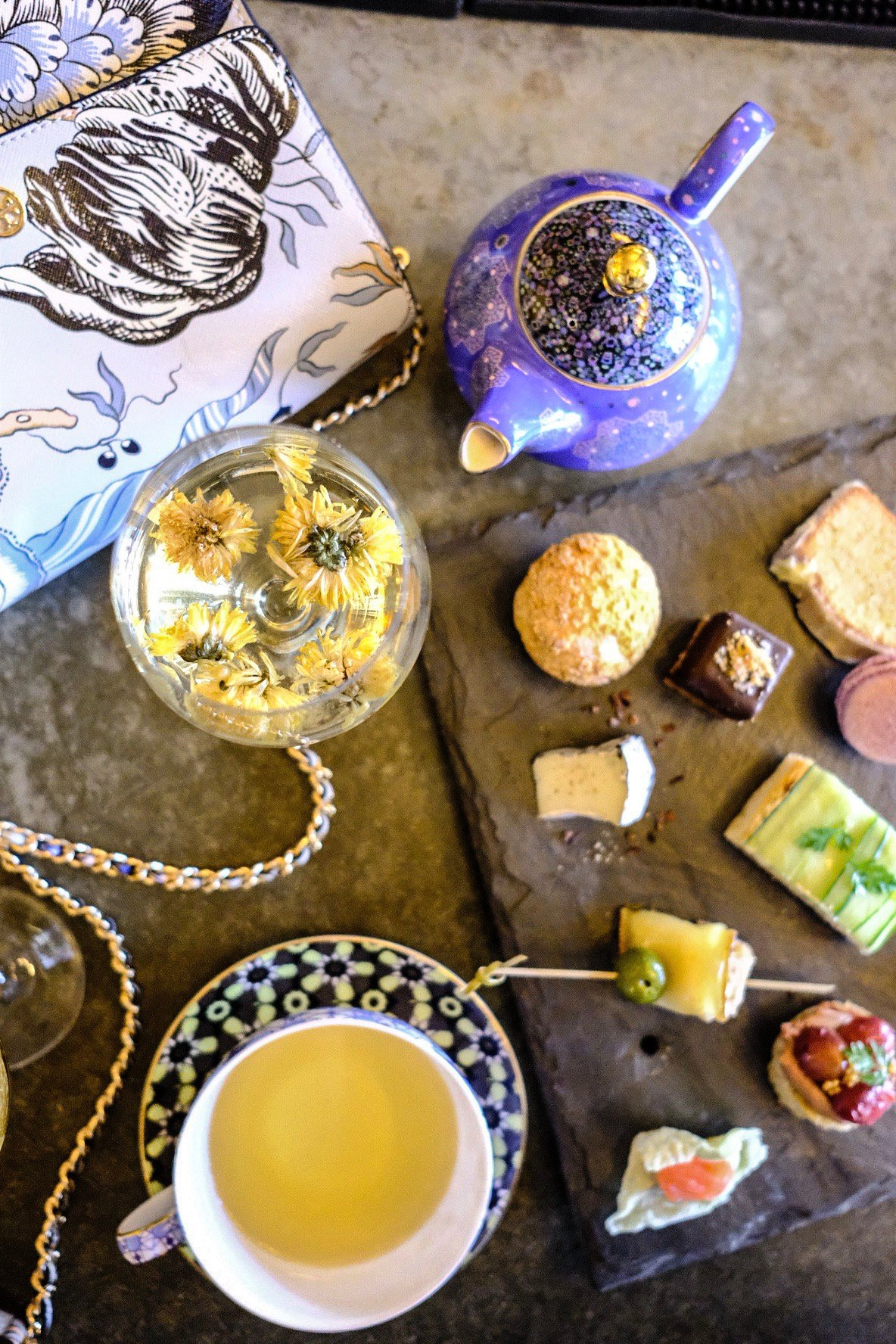 Lifestyle Blogger Jenny Meassick of Chocolate & Lace shares her series of Where to Eat in Philly with Fork Restaurant High Tea.