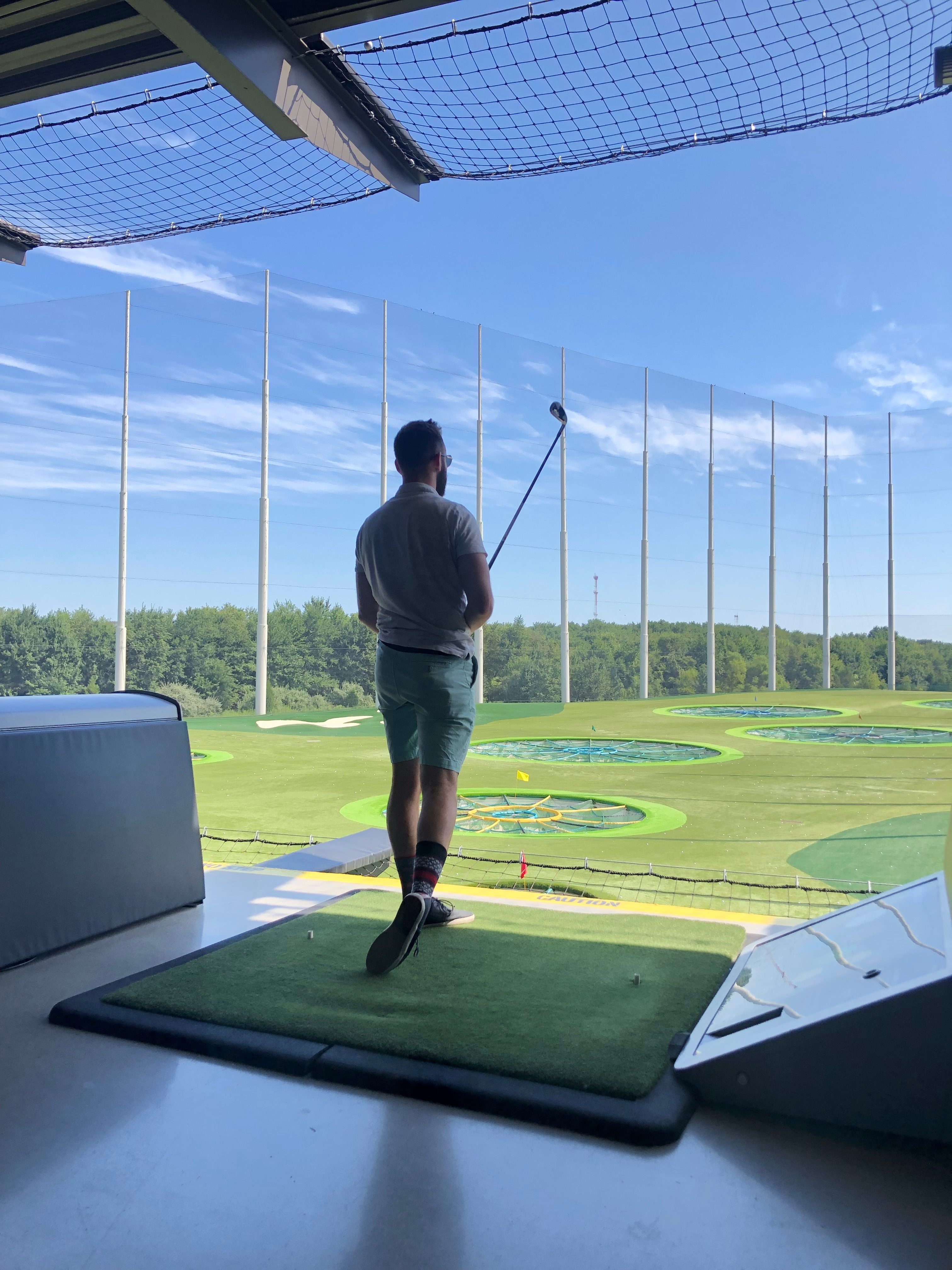 Lifestyle Blogger Chocolate & Lace shares her Topgolf Experience in Mount Laurel New Jersey.