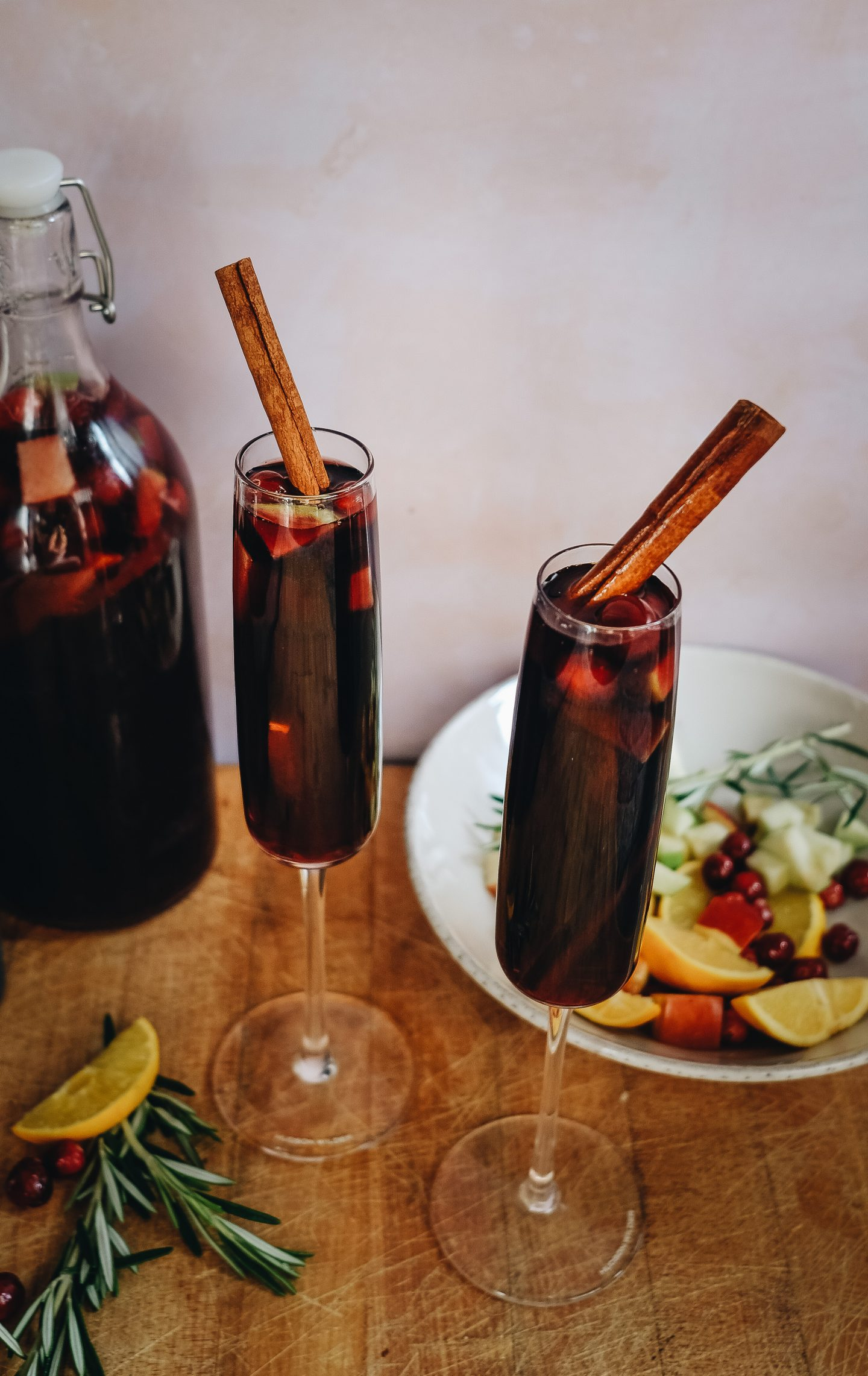 The Best Holiday Sangria