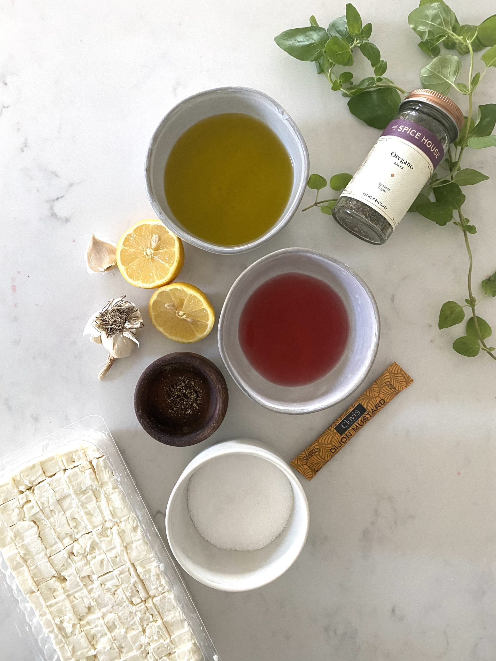 Lifestyle Blogger Chocolate and Lace shares her recipe for Greek Dressing.