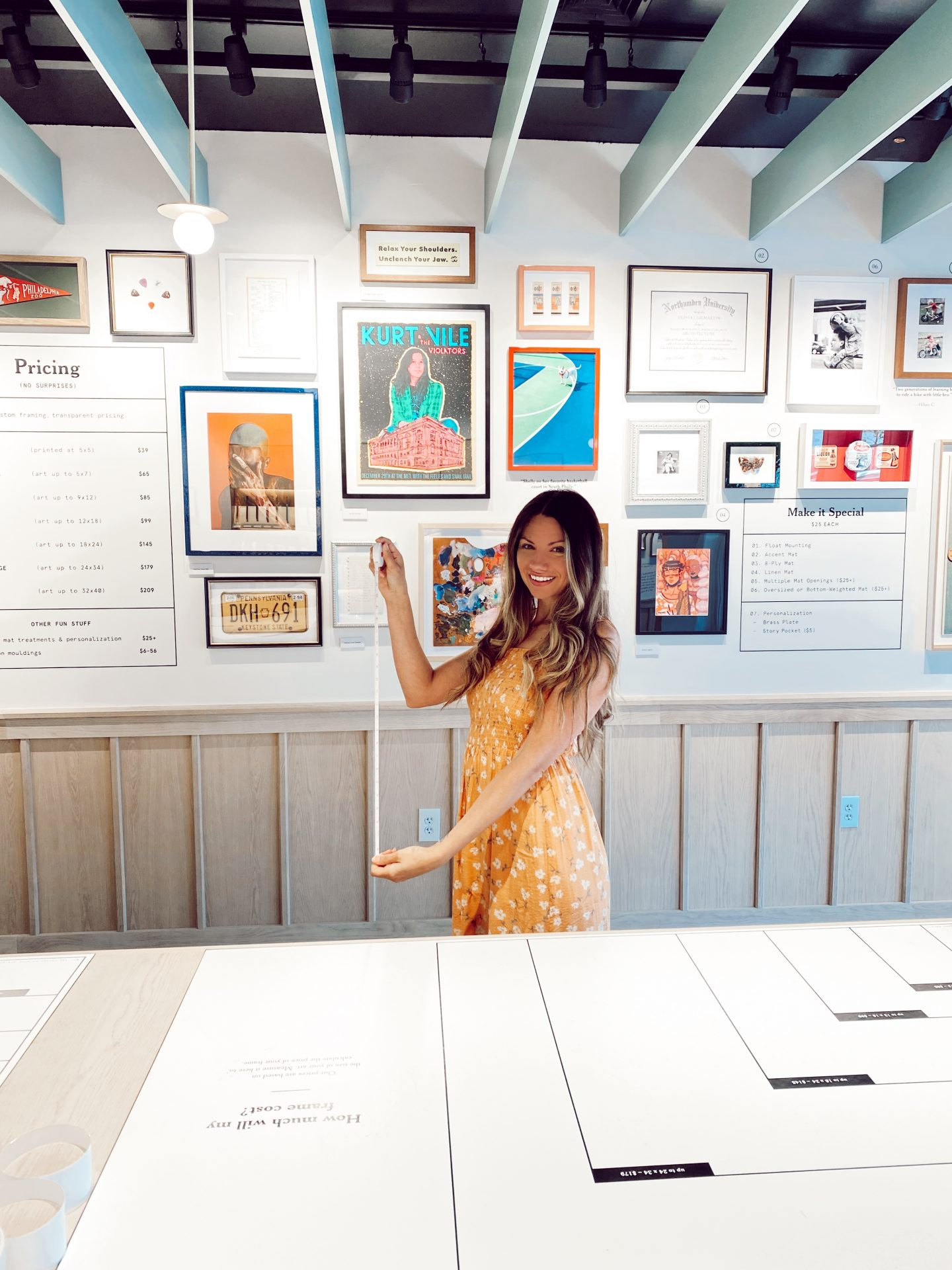 How to Create a Framebridge Gallery Wall at Suburban Square